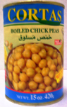 Cortas Boiled Chickpeas