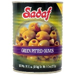 Sadaf Green Pitted Olives ( 19.75 oz )