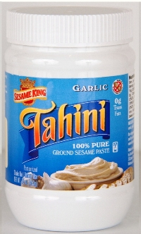 Sesame King Tahini, Garlic - 1 lb.