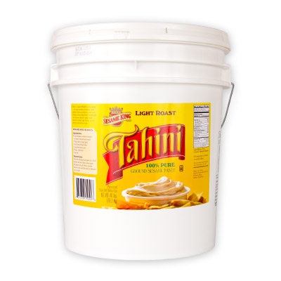 Sesame King Tahini Paste, Light Roast - 40 lb.
